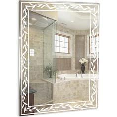 Зеркало Mixline Лавр 53,5х75 с пескоструйным рисунком (4620001986316)
