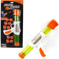 Игрушечное оружие 1Toy Street Battle с мягкими шариками Т13647