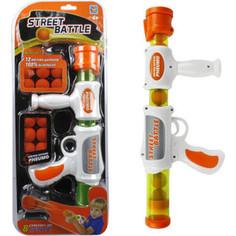 Игрушечное оружие 1Toy Street Battle с мягкими шариками 12 шариков Т13648
