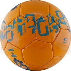 Мяч футбольный Umbro Veloce Supporter 20905U-GK7, р.4, оранжево-синий