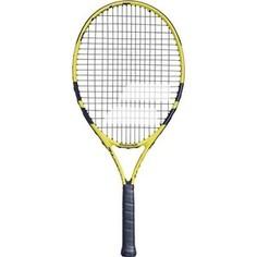 Ракетка для большого тенниса Babolat Nadal 23 Gr00, 140248, для детей 7-8 лет, черно-желтый