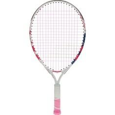 Ракетка для большого тенниса Babolat BFLY Gr000, 140243, для детей 5-7 лет, бело-розово-синий