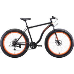 Велосипед Black One Monster 26 D чёрный/оранжевый 18