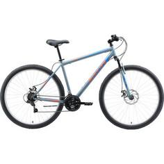Велосипед Black One Onix 29 D серый/оранжевый/голубой 22