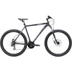 Велосипед Stark 19 Hunter 27.2+ HD чёрный/серый 20