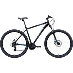 Велосипед Stark 20 Hunter 29.2 D чёрный/серый/голубой 22