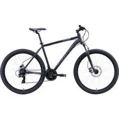 Велосипед Stark 20 Hunter 27.2 HD чёрный/серый 20