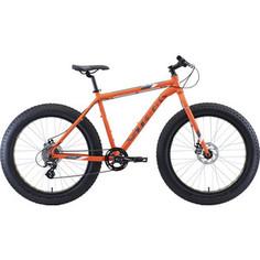 Велосипед Stark 20 Fat 26.2 D оранжевый/серый/белый 18