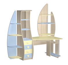 Компьютерный стол (угловой) Юнга Премиум МК