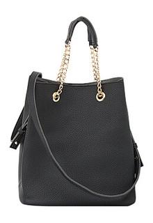 Черная сумка La Reine Blanche