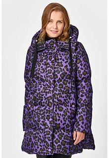 Пуховик леопардовой расцветки Visconf