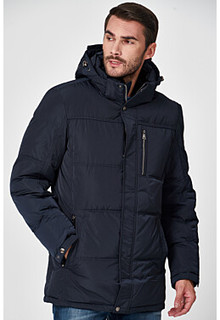 Утепленная куртка с отделкой меховой тканью Al Franco