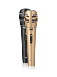 Микрофон BBK CM215 Black-Champagne