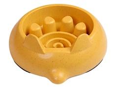 Миска для медленного кормления Bobo BO-3162-3 Yellow