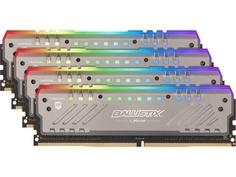 Модуль памяти Crucial Ballistix Tactical Tracer RGB DDR4 DIMM 3200MHz PC4-25600 CL16 - 32Gb KIT (4x8Gb) BLT4K8G4D32AET4K