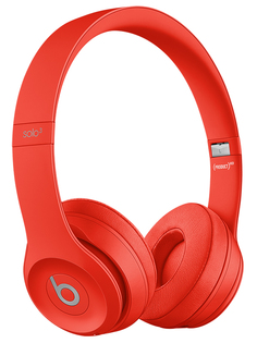 Наушники Beats Solo3 Wireless Headphones Red MX472EE/A