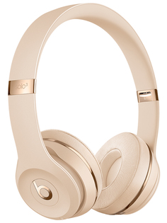 Наушники Beats Solo3 Wireless Headphones Satin Gold MX462EE/A