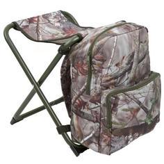 Камуфляжный Стул-рюкзак Для Охоты Solognac