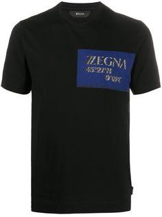 Z Zegna футболка с логотипом