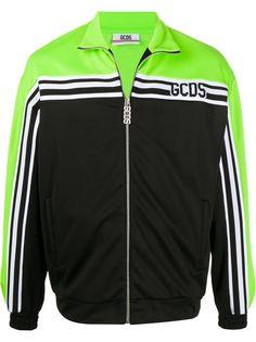 Gcds спортивная куртка с полосками и логотипом