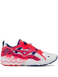 Mizuno кроссовки на шнуровке с сетчатыми вставками