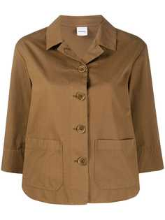 Aspesi куртка-рубашка с накладными карманами