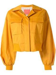 Manning Cartell укороченная куртка-рубашка свободного кроя