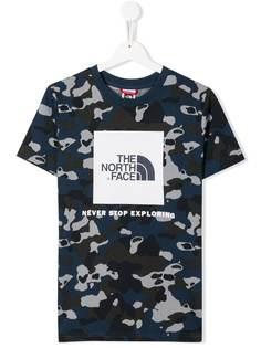 The North Face Kids футболка Youth Box с логотипом