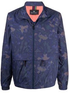 PS Paul Smith куртка с камуфляжным принтом