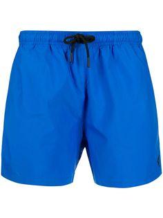 Marcelo Burlon County Of Milan плавки-шорты с вышитым логотипом