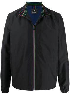 PS Paul Smith куртка-бомбер с отделкой в полоску