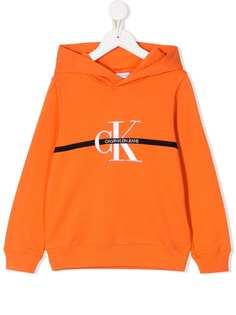 Calvin Klein Kids худи с длинными рукавами и логотипом