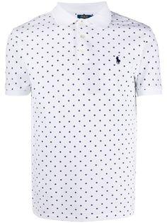 Polo Ralph Lauren рубашка-поло с узором