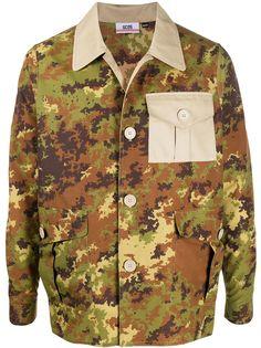 Gcds камуфляжная куртка с карманами