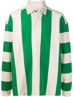 YMC полосатая рубашка-поло