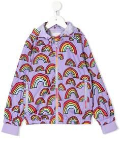 Stella McCartney Kids дождевик Scribble Rainbow