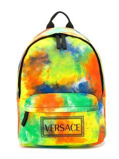 Young Versace рюкзак с принтом тай-дай