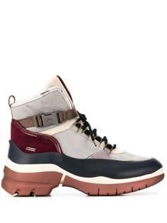 Hogl ботильоны на платформе со шнуровкой