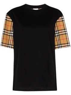 Burberry футболка Serra в клетку Vintage Check