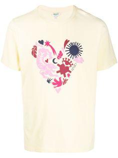 Kenzo футболка с круглым вырезом и принтом