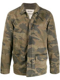 Zadig&Voltaire куртка с камуфляжным принтом
