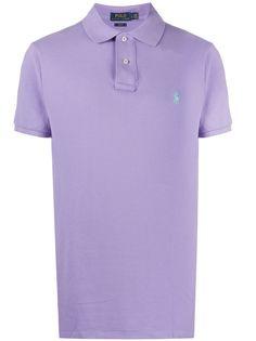 Polo Ralph Lauren рубашка-поло с короткими рукавами вышитым логотипом