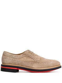 Paul Smith фактурные туфли на шнуровке