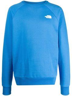 The North Face logo-print crew neck sweatshirt