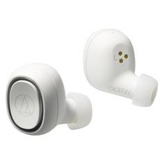 Наушники AUDIO-TECHNICA ATH-CK3TW, Bluetooth, вкладыши, белый [80000917]