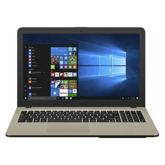 "Ноутбук ASUS VivoBook A540UB-DM1668T, 15.6"", Intel Core i3 7020U 2.3ГГц, 6Гб, 256Гб SSD, nVidia GeForce Mx110 - 2048 Мб, Windows 10, 90NB0IM1-M24190, черный"