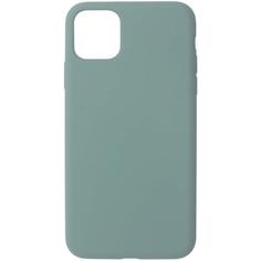 Чехол InterStep 4D-TOUCH MV iPhone 11 Pro Max тёмно-зелёный