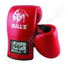 Снарядные перчатки atemi bulls размер l, цвет красный, btb-17001 00-00002159