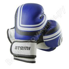 Боксерские перчатки atemi 10 унций размер s/m, цвет синий, ltb-16101 00-00000734
