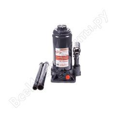 Гидравлический бутылочный домкрат skyway 8т h 200-385 мм с клапаном в коробке s01804019